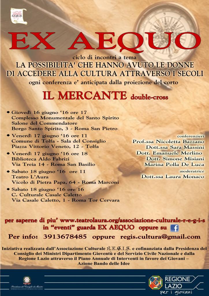 EX AEQUO locandina conferenze DEF WEB