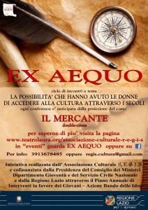 EX AEQUO locandina web