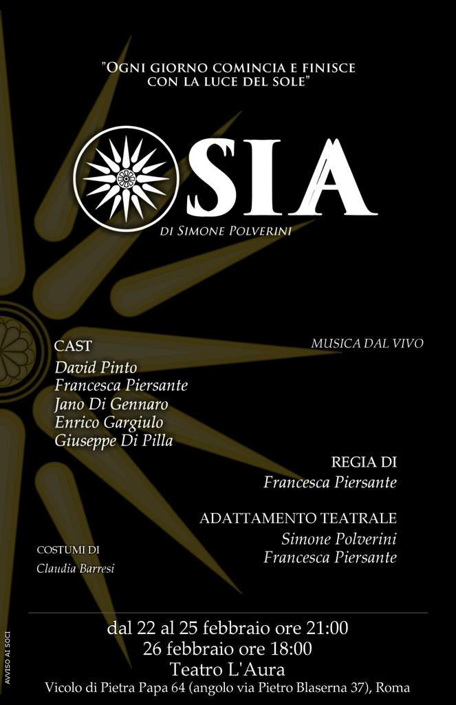Locandina corretta Osia Teatro L Aura